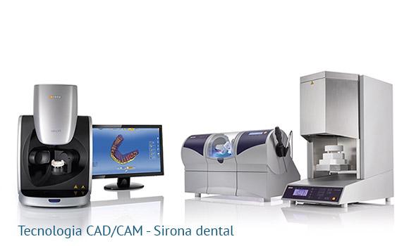 Tecnologia CAD CAM dentale Sirona dental